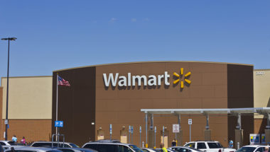 Indianapolis, US - May 18, 2016: Walmart Retail Location. Walmart is an American Multinational Retail Corporation V