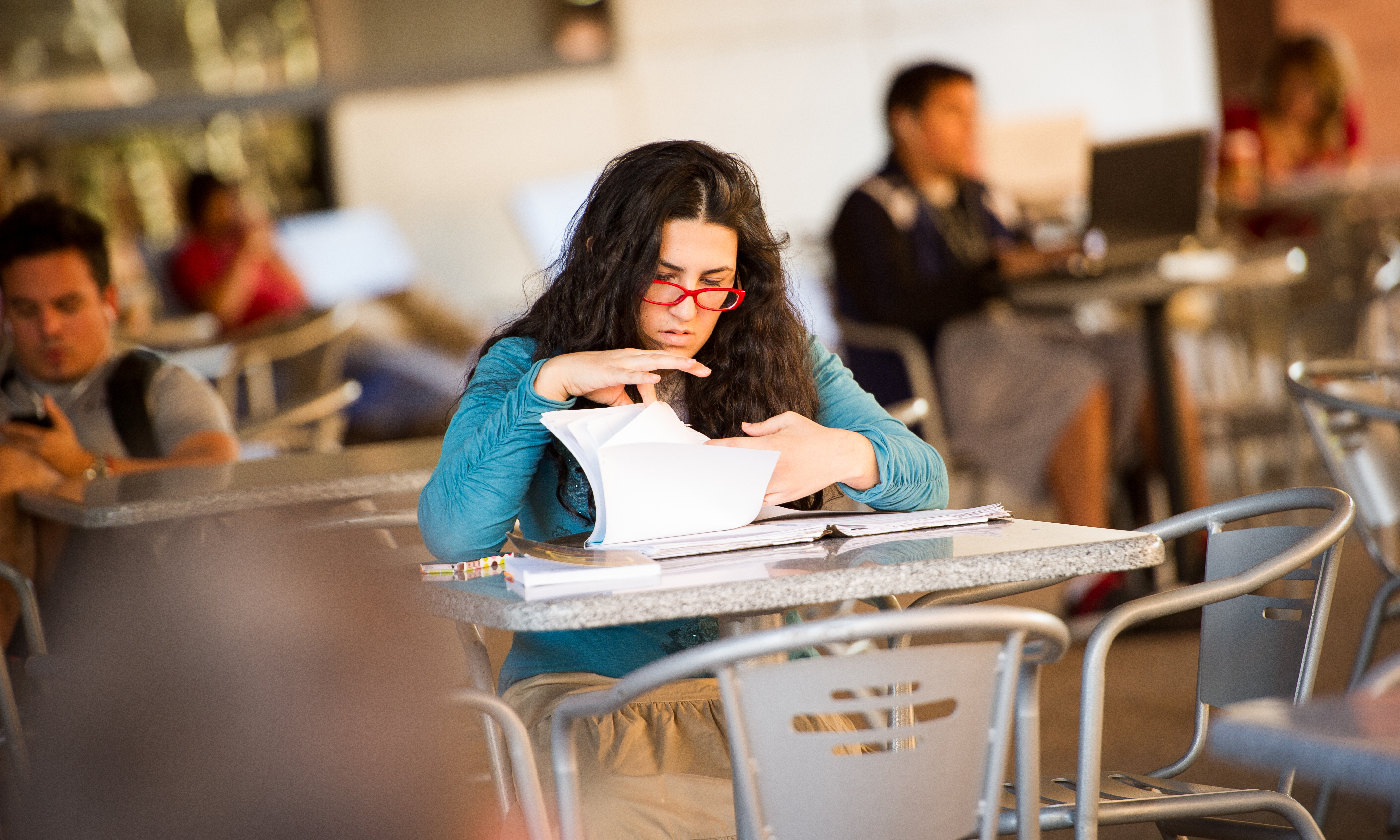 Stressed ASU Student